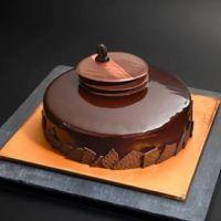 Glaçage noir cacao